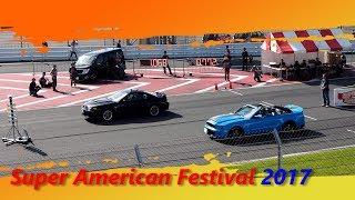 スーパーアメリカンフェスティバル 2017 ドラッグレース