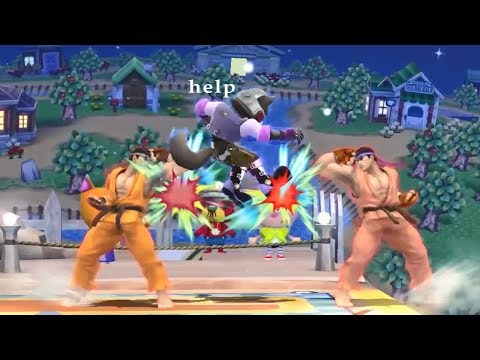 this is not okay  Crazy Doubles Plays in Smash 4