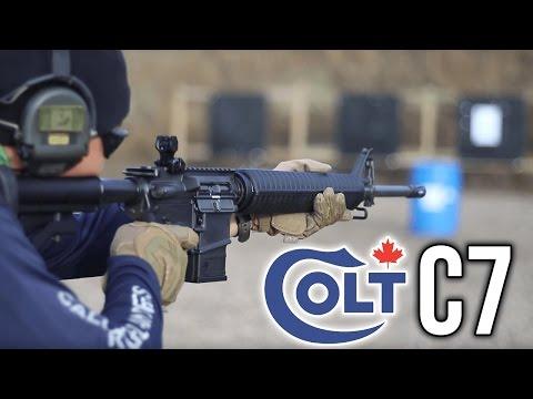 Colt Canada SA20 aka. C7 Rifle Review