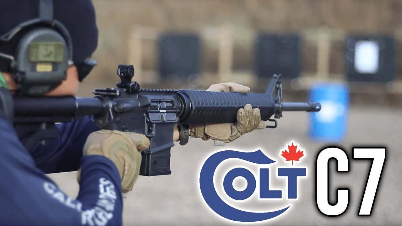 colt canada sa20 aka c7 rifle review youtube