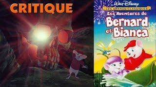 Critique : Les aventures de Bernard et Bianca (1977)