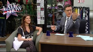 Late Show Gets Some Fresh Air