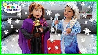 Top 10 Disney Princesses Dresses with Frozen 2 Elsa and Anna!!!