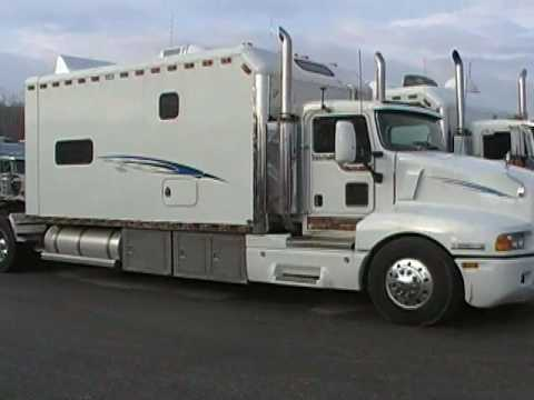sleepers yellow come truck for berth sleeper sale back the trucking peterbilt industry to custom big trucks