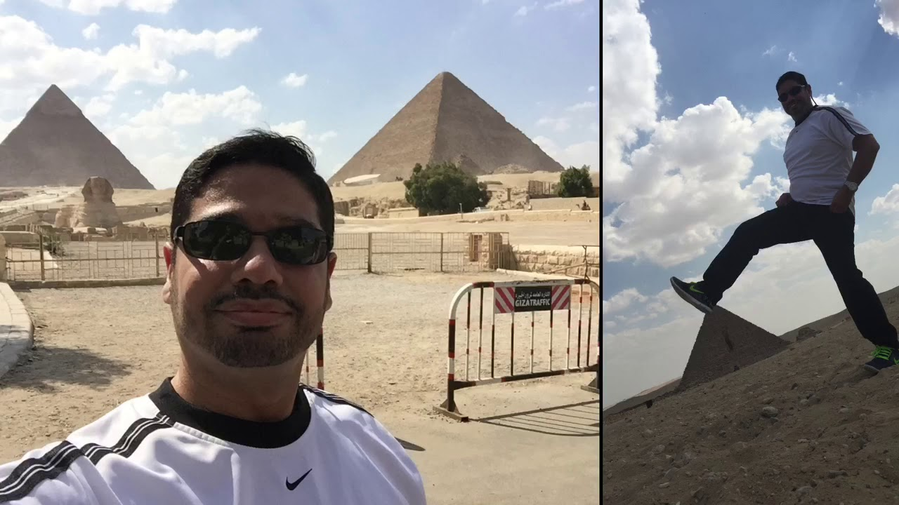 Aiman Abdrabou Vacations In Cairo Egypt