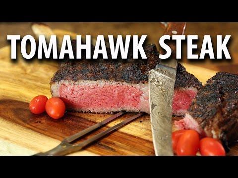 Amazing Twice Seared and Sous Vide Tomahawk RIBEYE Steak |  - BIG MEAT SUNDAY