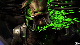 Mortal Kombat X All Fatalities on Maskless Predator