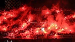 التراس اهلاوي يشعل التتش قبل مباراة القمة 28/1/2015
