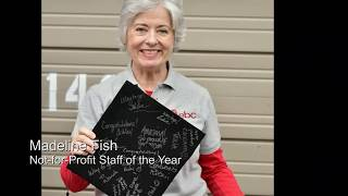 AEA Awards 2019 Staff Member of the Year Award to Madeline Fish