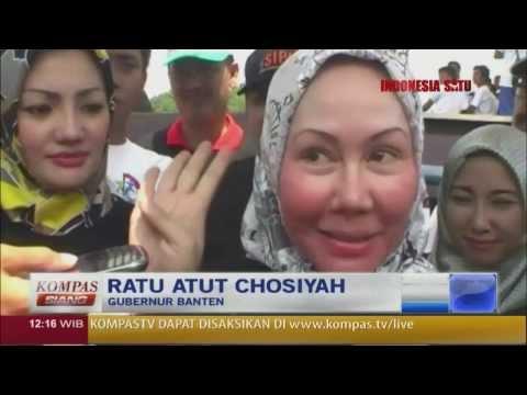 Gubernur Banten, Ratu Atut Jadi Tersangka - Kompas Siang 17 Desember 2013