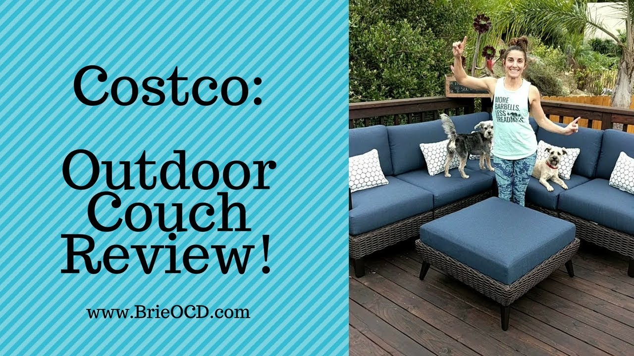 costco product review outdoor couch