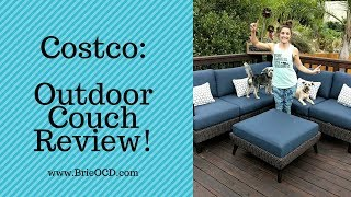 Costco Product Review - outdoor couch
