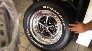 Magnum 500 Rims on Jorg's 1969 M Code Mach 1 Mustang Fastback - Day 51