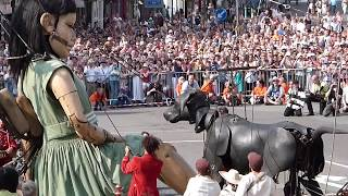 Royal de luxe 'Giants', Liverpool, July 25th 2014