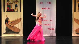 Bellydancer Of The World 2014 -III winner Marta Nowicka Thumbnail