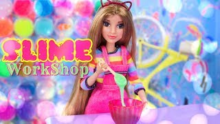 DIY - How to Make: Doll SLIME Work Shop | Bed | Couch | Table & More