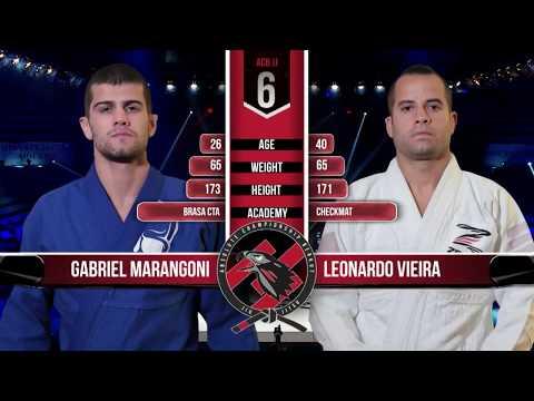 Gabriel Marangoni vs Leonardo Vieira awesome submission ACB JJ World Grand Prix