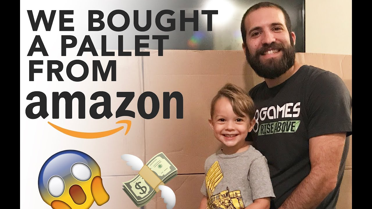 Unboxing an Amazon Liquidation Pallet purchase (my first one!)