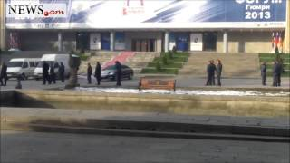 Putin's visit brings life to standstill in Armenian Gyumri - Dec 2 2013