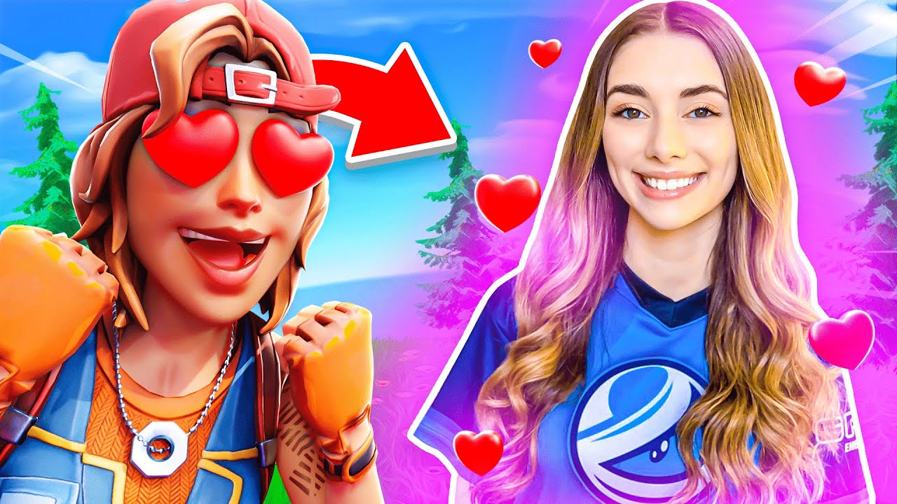 I played Fortnite with my GIRLFRIEND?! 😍💘   Clix
