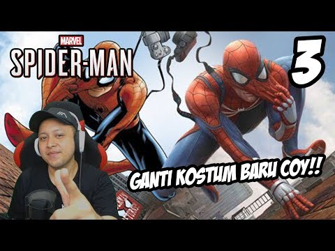 ADVANCE SUIT SPIDERMAN! - MARVEL SPIDERMAN PS4 INDONESIA #3