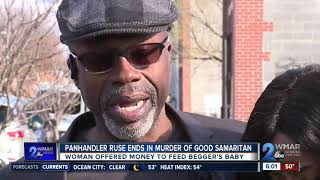54-year-old woman stabbed to death trying to give panhandler money