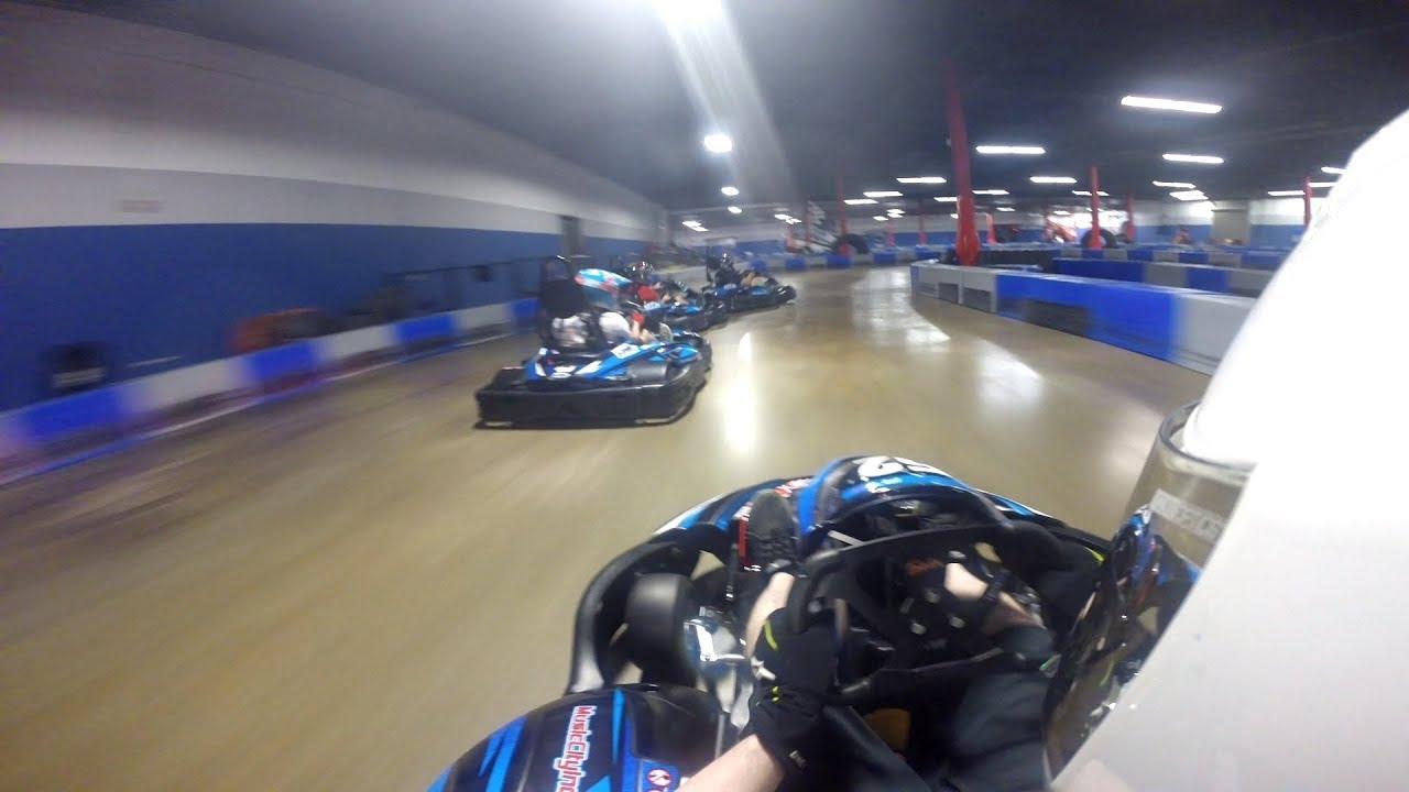 Indoor Go Karts Nashville >> Music City Indoor Karting Gp Final A Main Race On Reverse Track