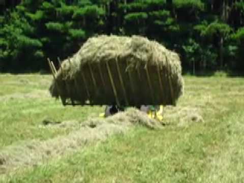 Automatic hay baler plans (homestead