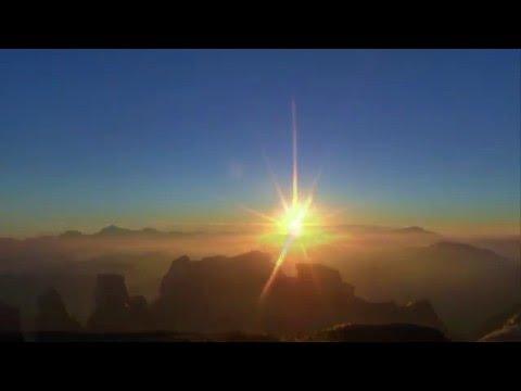 Восход Солнца на горе Моисея (Синай).