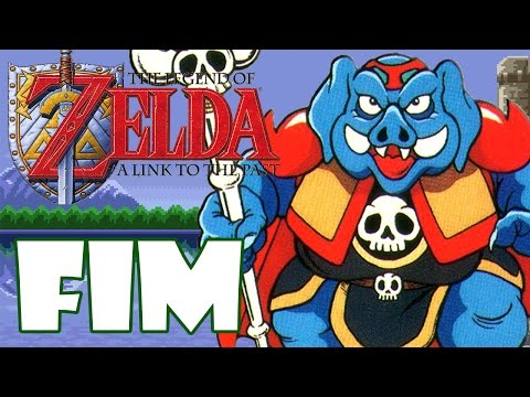 ZELDA LINK TO THE PAST #16 - O COMBATE FINAL
