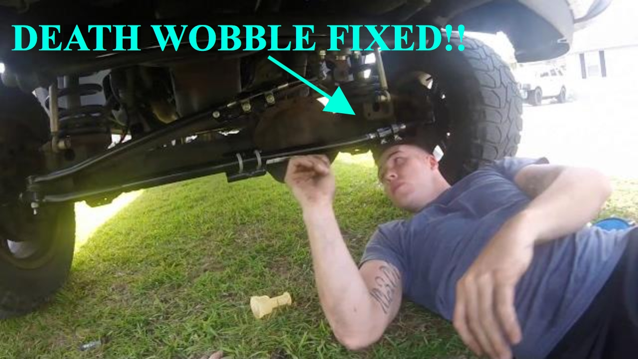 3rd Gen Dodge Cummins Death Wobble Fix Youtube