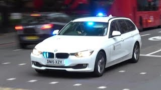 London Ambulance Service - Ambulance, Response car and HART Officer responding!