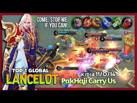 Royal Matador King Puncture Spamming by PαkHαʝi Carry Us Top 1 Global Lancelot ~ Mobile Legends
