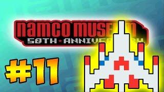"Namco Museum 50th Anniversary Challenge - #11 - ""GALAGA!"" (Gameplay/Let"