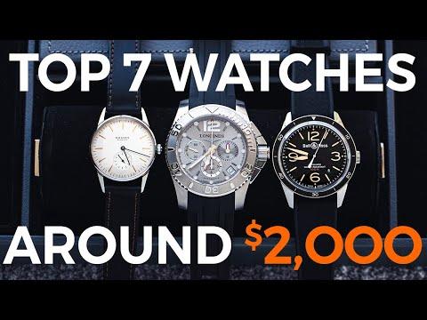 Top 7 Watches Under $2000