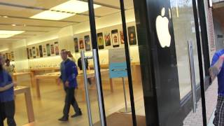 iPhone 5s Gold 64gb Unboxing + Campout @ Apple Store, Southpoint