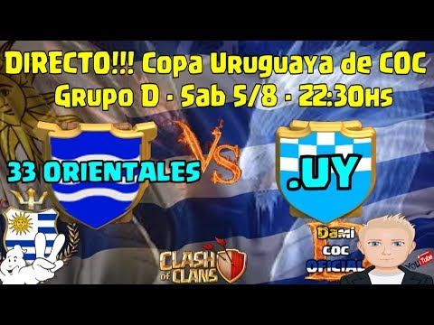 DIRECTO!!! Copa Uruguaya 2 - .UY vs 33 Orientales