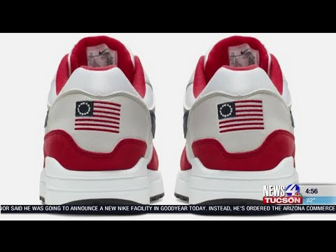 Ducey Slams Nike After Pulling Sneakers With 'Betsy Ross' American Flag