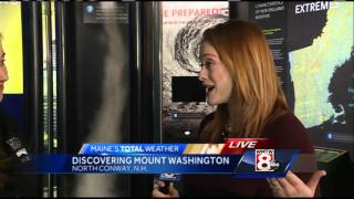 Inside the Mount Washington Observatory