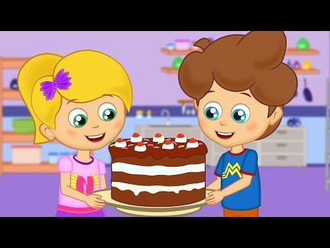 Pat-a-Cake Song - Happy Baby Songs Nursery Rhymes