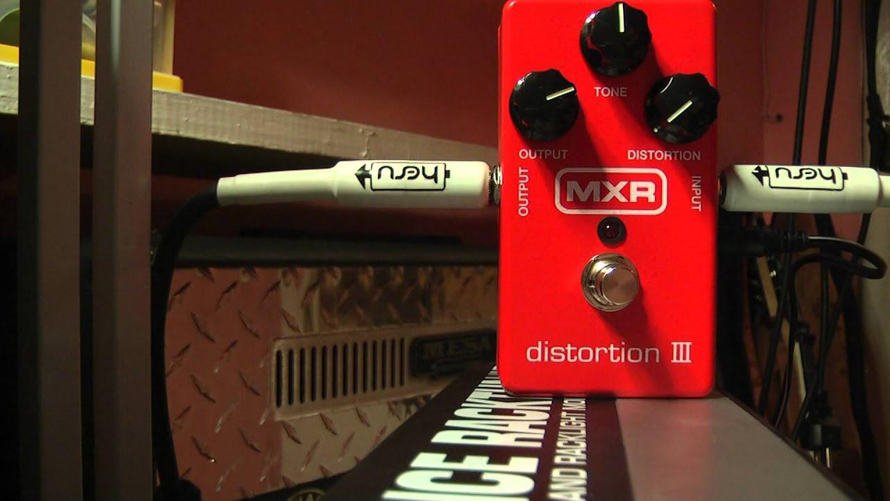 mxr distortion iii m115 test review sklep youtube. Black Bedroom Furniture Sets. Home Design Ideas