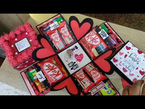 Choclate explosion box ||  best gift for rakshabandhan || choclate box || birthday ideas ||