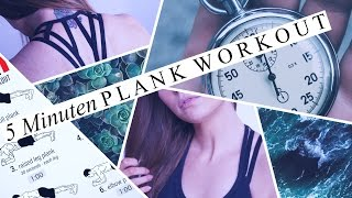 5 MINUTEN PLANK WORKOUT (DEUTSCH)