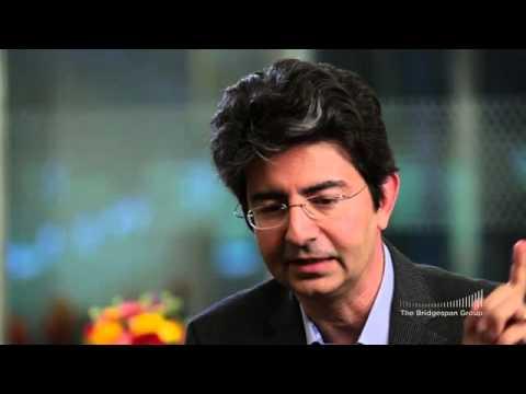 Pierre Omidyar talks about Omidyar Network's hybrid model approach to philanthropy