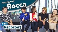 """FINNreporterin Jasmin beim Interview mit """"ROCCA verändert die Welt"""""""