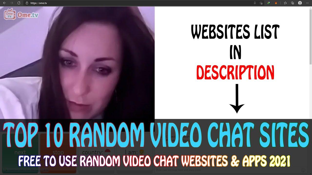 Top 10 Random Video Chat Websites 2021  Best Girls Only Random Video Chat Websites u0026 Apps 2021