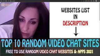 Top 10 Random Video Chat Websites 2021 | Best Girls Only Random Video Chat Websites & Apps 2021 screenshot 4