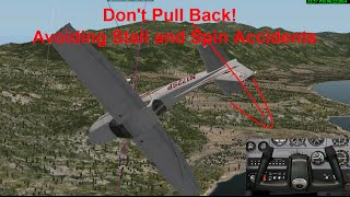 Avoiding Stall and Spin Accidents
