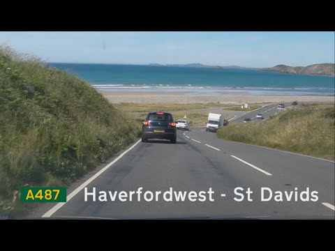[GB] A487, Part 1: Haverfordwest to St Davids