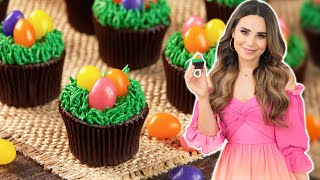 How To Make VEGAN Easter Egg Cupcakes!